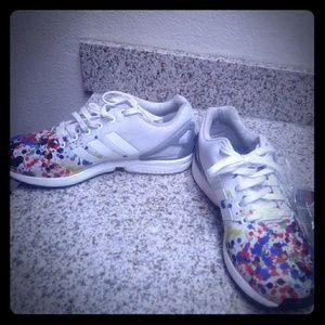 Adidas ZX Flux Splatter shoes